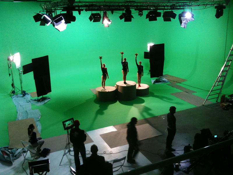 History of Green Screen Technology in a Studio in New York