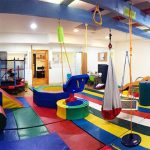 It might be better for the child if a whole room is dedicated to the gym