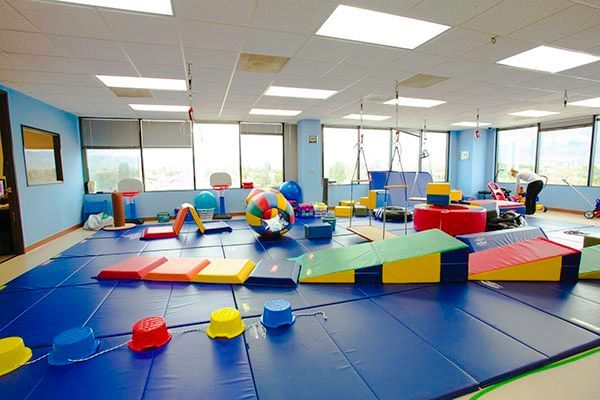 The second advantage is that the child will have the ability to bring the sensory development home.